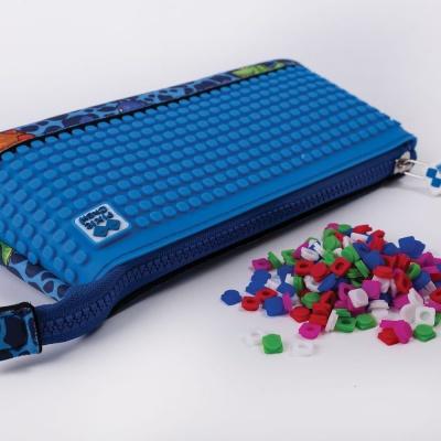 Kreativní pixelový školní penál Dino PXA-02-90