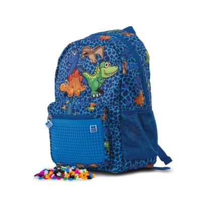 Dětský kreativní pixelový batoh Dino PXB-18-90