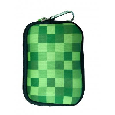 Kreativní pixelové pouzdro PIXIE CREW Minecraft zelená PXA-08-18