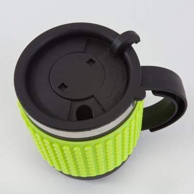 Kreativní pixelový hrnek neon zelený PXN-02-05