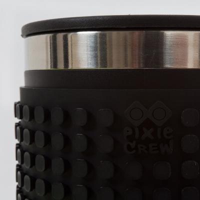 Kreativní pixelový hrnek černý PXN-02-24