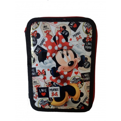 Minnie Mouse školní penál dvoupatrový B0082-6