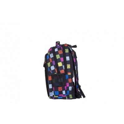 Školní kreativní pixelový batoh barevná kostka PXB-06-Y24