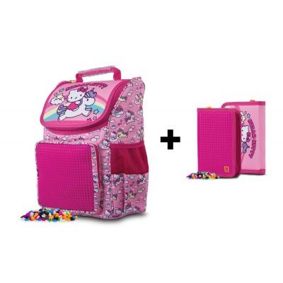 SET školská aktovka PXB-22-88 + peračník Hello Kitty zadarmo