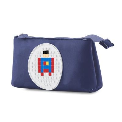 Kreatívny pixelový školský peračník modrý PXA-01-85