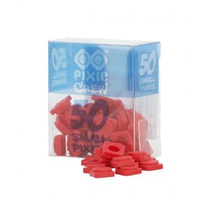 Malé pixely PIXIE CREW červené PXP-01-01