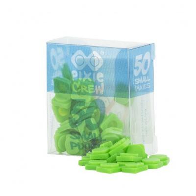 Malé pixely PIXIE CREW zelená PXP-01-07