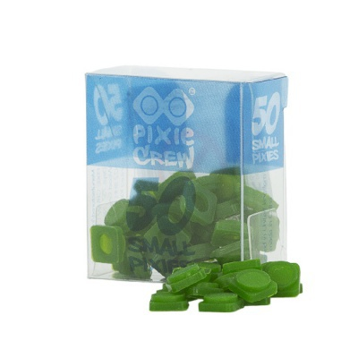 Malé pixely PIXIE CREW tmavá zelená PXP-01-08