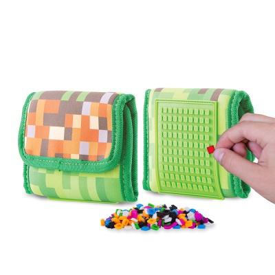 Kreatívna pixelová peňaženka PIXIE CREW Adventure PXA-10-83
