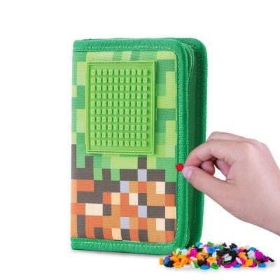 Kreativní pixelový školní penál Adventure PXA-04-83