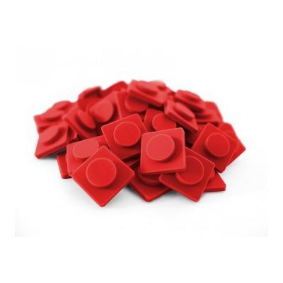 Malé pixely Pixelbags červená P002