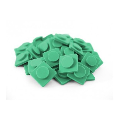 Malé pixely Pixelbags modro zelená P002