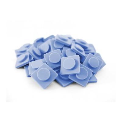 Malé pixely Pixelbags šedo modrá P002