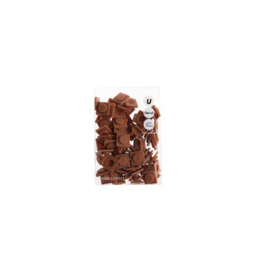 Malé pixely Pixelbags kávová P002