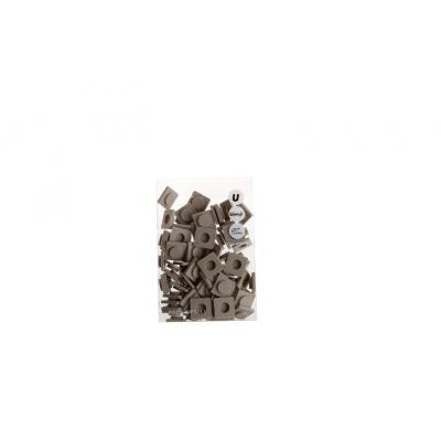 Malé pixely Pixelbags kamenově šedá P002