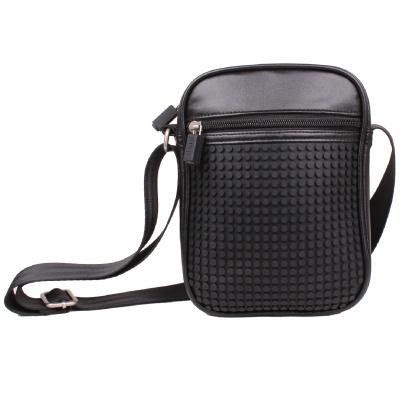Krativní pixelová taška přes rameno Pixelbags A018 černá
