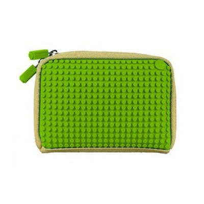 Kreativní pixelová příruční taška Pixelbags zelená B001