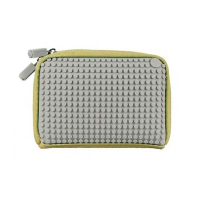 Kreativní pixelová příruční taška Pixelbags šedá B001