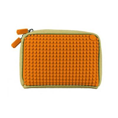 Kreativní pixelová příruční taška Pixelbags oranžová B001